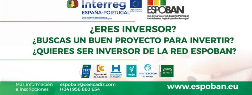 ¿ERES INVERSOR? ¿BUSCAS UN BUEN PROYECTO PARA INVERTIR? ¿QUIERES SER INVERSOR DE LA RED ESPOBAN?